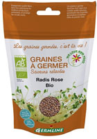 Graines de radis rose